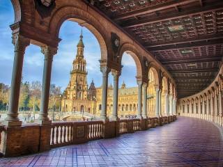 Собирать пазл Seville онлайн