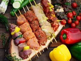 Собирать пазл Barbecue five онлайн