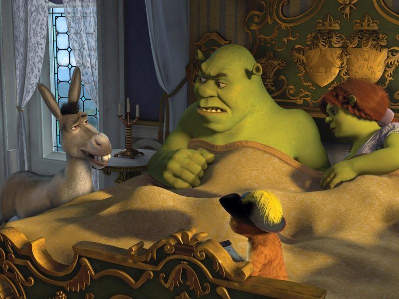 Puzzle Recueillir des puzzles en ligne - Shrek and Fiona