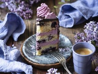 Собирать пазл Lilac cream онлайн