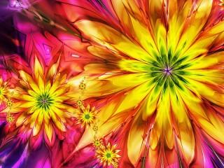 Собирать пазл Shining fractal онлайн