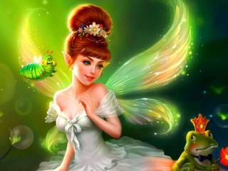 Собирать пазл Fairy-tale pixie онлайн