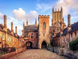 Собирать пазл Cathedral in England онлайн