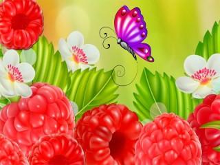 Собирать пазл Sochnaya malinka онлайн