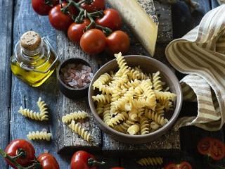 Собирать пазл Spiral pasta онлайн