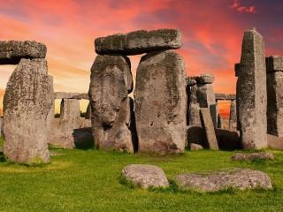 Собирать пазл Stonehenge онлайн