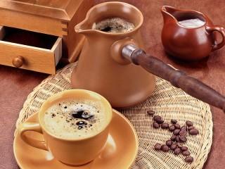 Собирать пазл Svezhesvareniy kofe онлайн