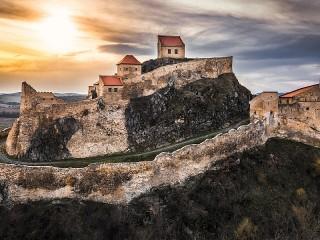 Собирать пазл The citadel in Romania онлайн