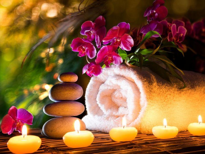 Puzzle Recueillir des puzzles en ligne - Flowers on the towel