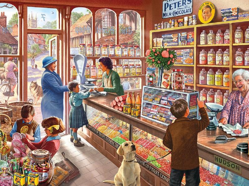 Puzzle Recueillir des puzzles en ligne - For sweets