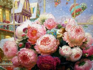 Собирать пазл Colorful dream онлайн
