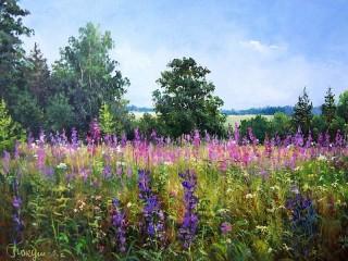 Собирать пазл Flower meadow онлайн