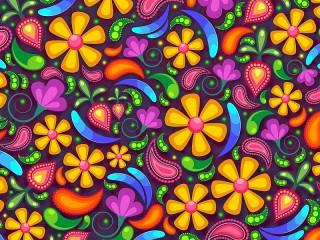 Собирать пазл Floral pattern онлайн
