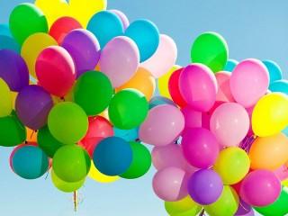 Собирать пазл Clouds of balloons онлайн