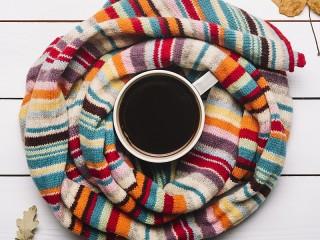 Собирать пазл Warm coffee онлайн