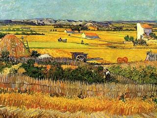 Собирать пазл Harvest at La Crau онлайн