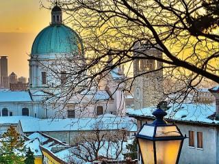 Собирать пазл A view of the Cathedral онлайн