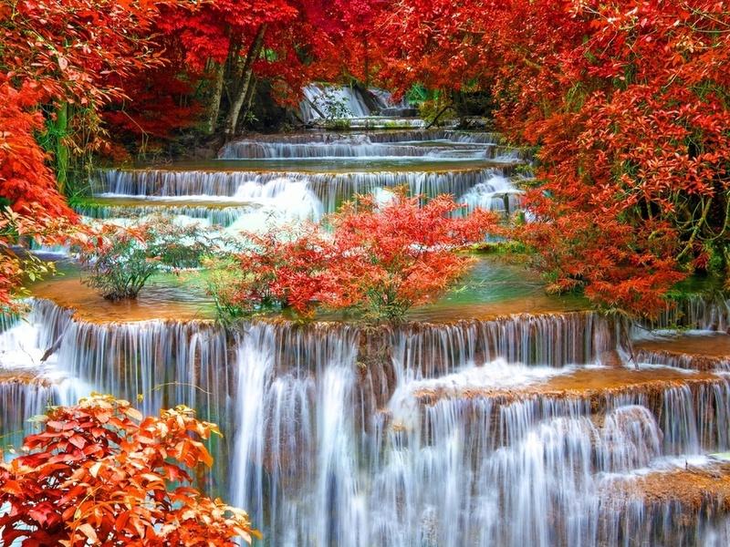 Puzzle Recueillir des puzzles en ligne - Waterfall 3