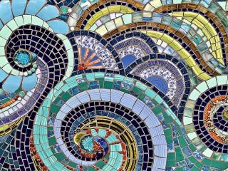 Собирать пазл Wave mosaic онлайн