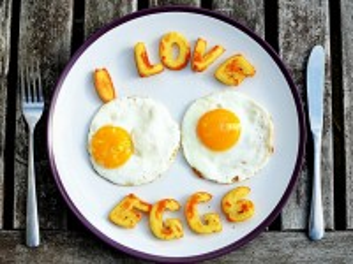 Собирать пазл I love eggs онлайн