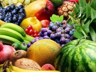 Собирать пазл Berries and fruits онлайн